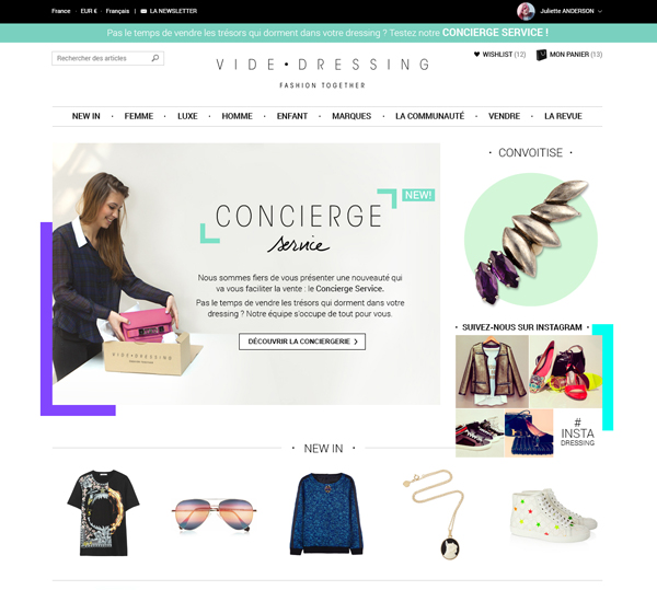 Le service Concierge de Videdressing.com