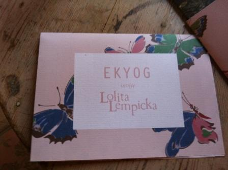 Ekyog invite Lolita Lempicka pour une collection capsule printemps-été 2012 bucolique et éthique