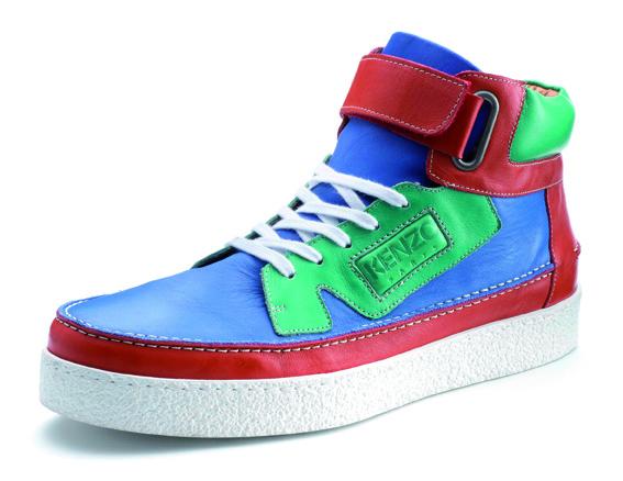 Ma sélection de chaussures Kenzo (homme) pour l'été