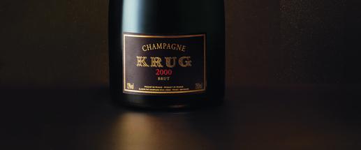 Un champagne d'excellence pour le réveillon : Krug 2000