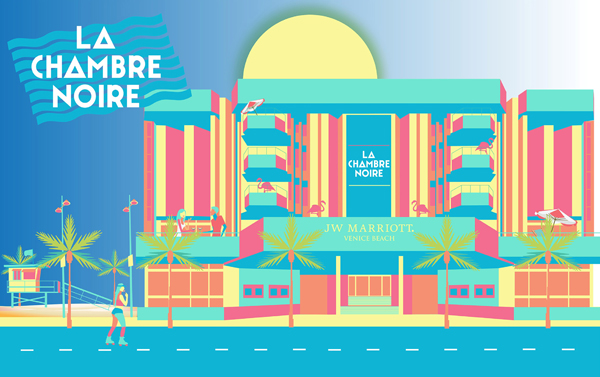 La Chambre Noire Belvedere à Cannes en mode 'We Are Fom L.A'