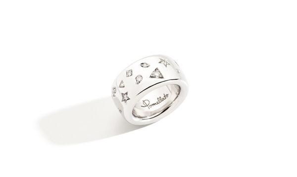 POMELLATO – Bague Iconica en or blanc et diamants – 5 600€