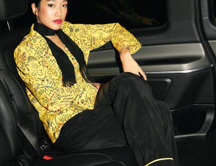 Peggy Gou en pyjama