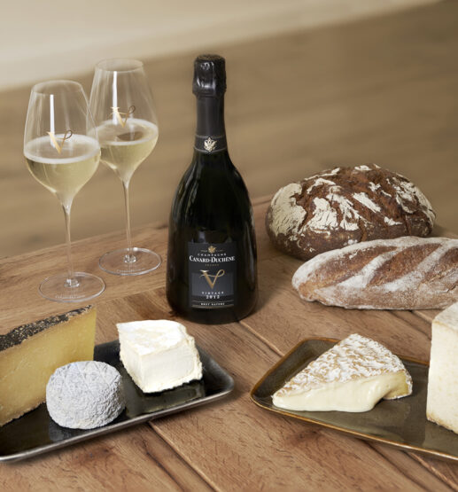 Coffret champagne-fromages