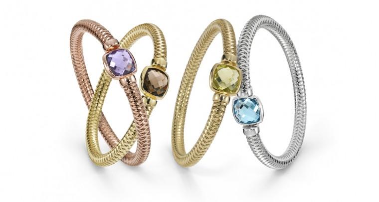 Bracelets élastiques en or by Roberto Coin