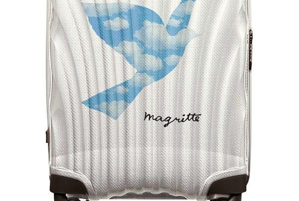 On aime la valise Samsonite x Magritte