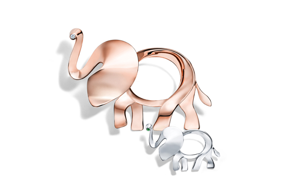 Tiffany et la sauvegarde des éléphants