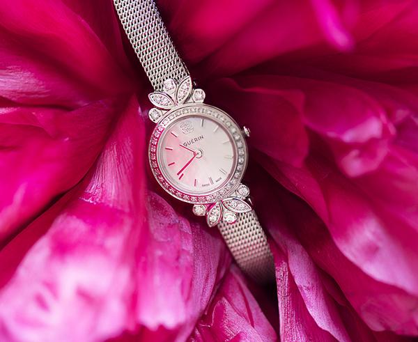 Les montres Diamants de rosée de Guérin Joaillerie