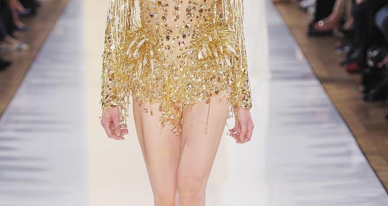 Spécial haute couture : Alexandre Vauthier, la féérie Swarovski