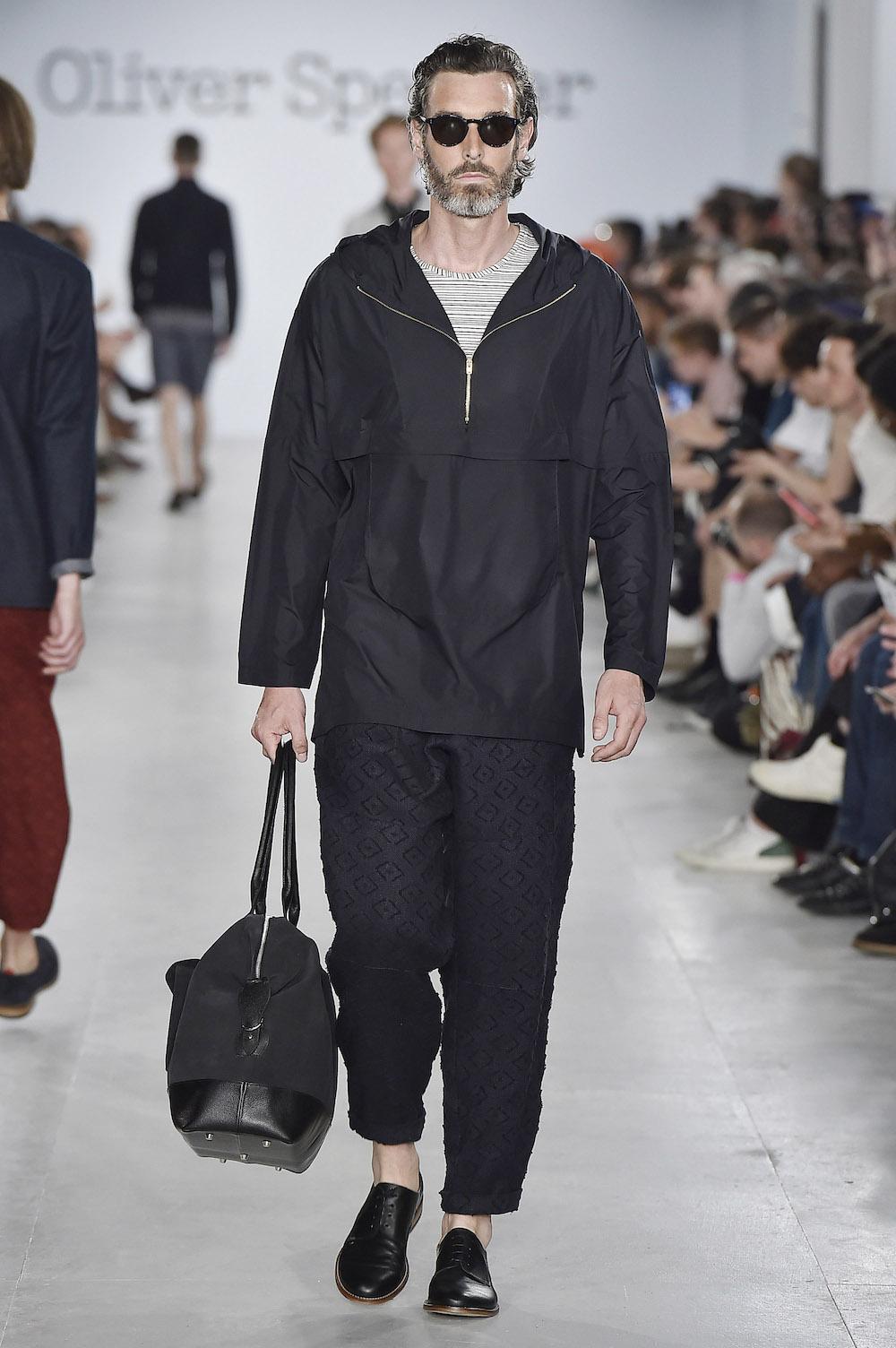 Défilé Oliver Spencer printemps-été 2017, Fashion Week Homme - Londres