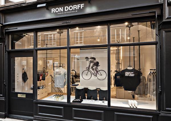 Ron Dorff ouvre à Londres