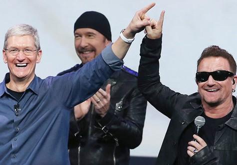 U2 publie son nouvel album gratuitement sur iTunes