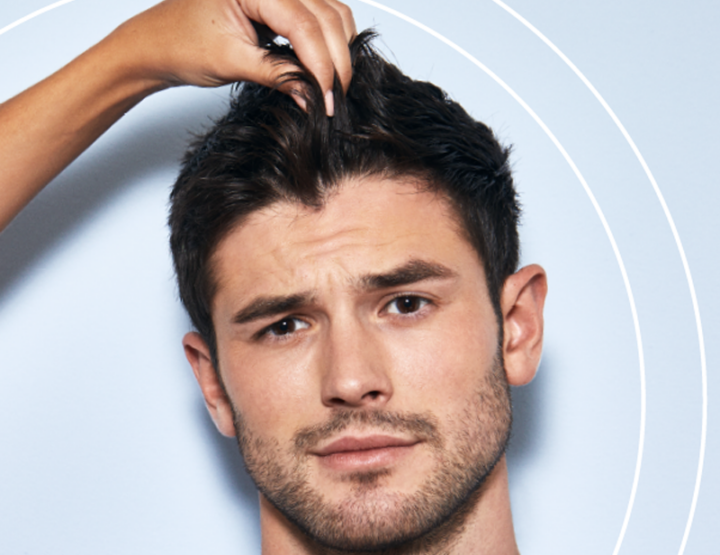 HOMME - De beaux cheveux?